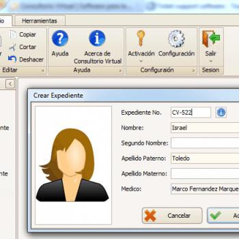 Software de gestión de servicios médicos 16