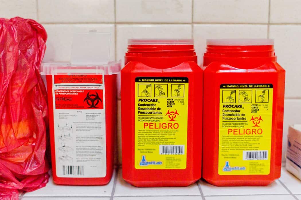 Servicio de recolección de residuos patogénicos